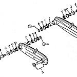 Axle chain case