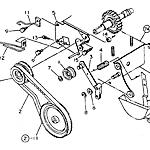 Engine driving gear