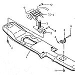Middle float plate