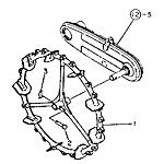 Rubber wheel (620)