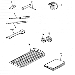 Tools and spare parts