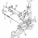 Transplant clutch control handle
