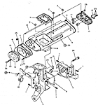 Transplanting gearbox (middle)