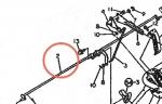 02. Seedling taking vertical feed adjusting (1 pc)  shaft subass