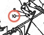 10. Cotter pin (1 pc)